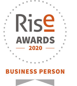 Paola Hobson finalist for Rise Awards