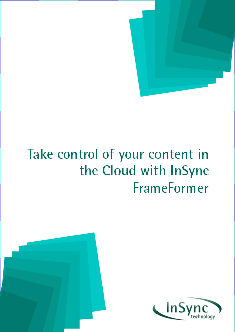 Take control of your content in the Cloud